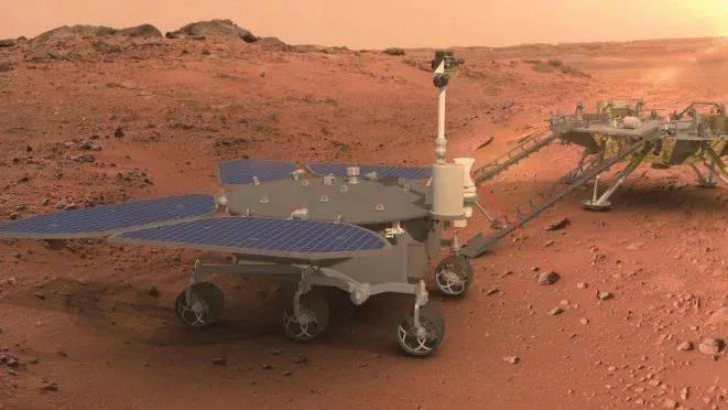 """中国首辆火星车名字揭晓 这个""""祝融""""是什么来头?"""