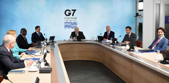 """G7峰会秀""""团结""""却遇尴尬,美国欲碰瓷中国"""