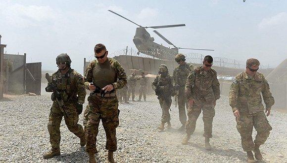 美军在阿富汗执行任务资料图。图片来源:视觉中国