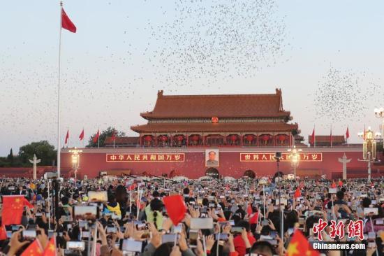 管沛林 华侨华人为中国庆生:感谢这个时代