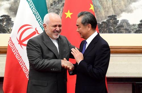 新无双列传v1 王毅同伊朗外长扎里夫举行会谈