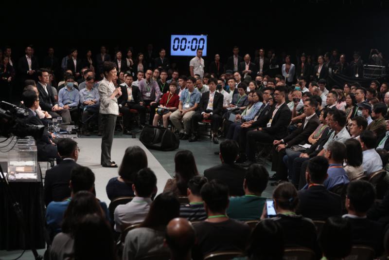 归真堂官网 林郑月娥首场社区对话会 市民这句话博得热烈掌声