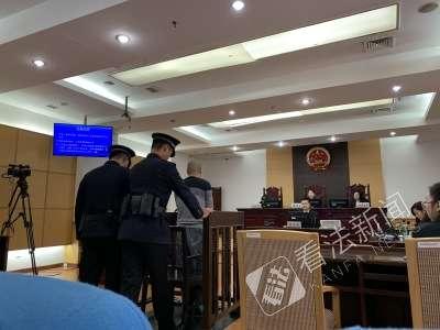 庭审现象 摄/记者 王雯雯