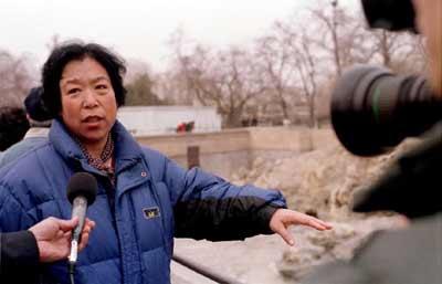 刘海洋伤熊事件结局_多图:北京动物园被硫酸所伤黑熊受到及时救治